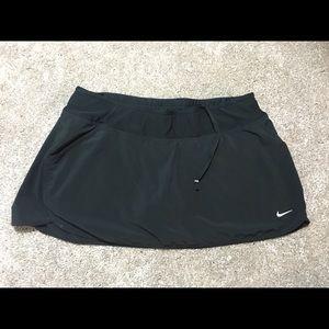 Nike Black Running Skirt Skort Large